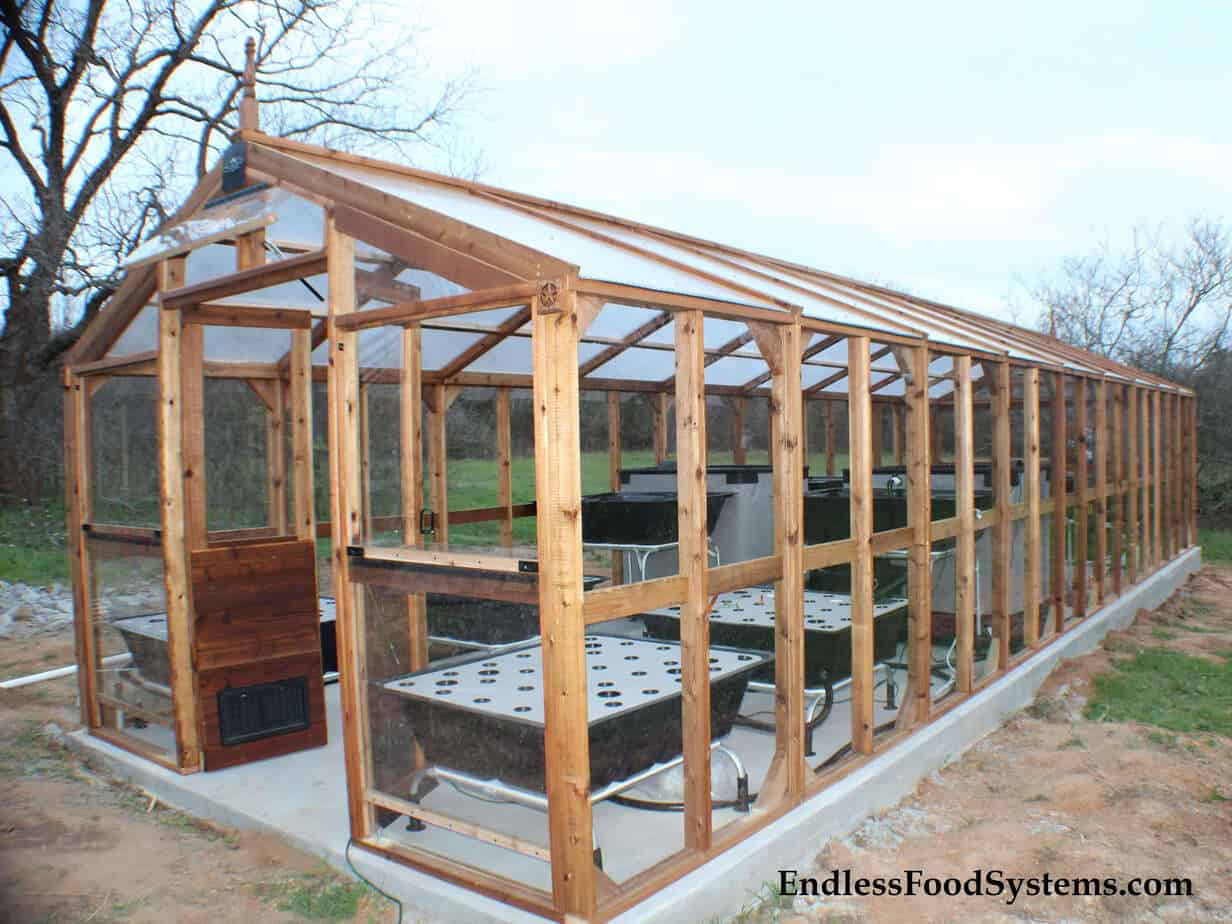Modular Red Cedar Greenhouse U2013 12 Ft. To 36 Ft. Lengths X 11 Ft. 3 In Wide